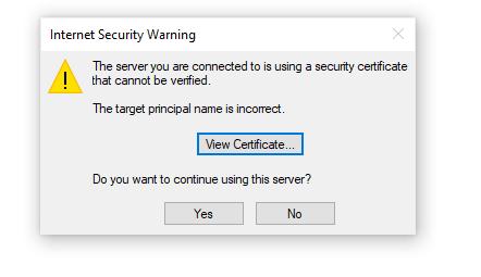 SSL Issues